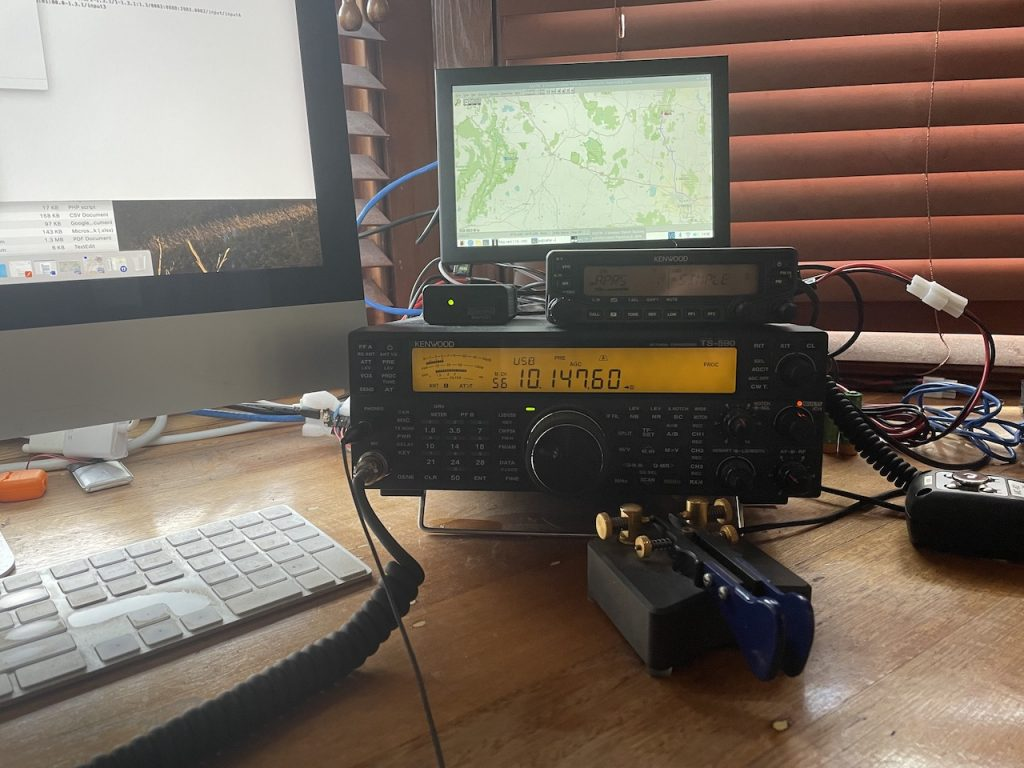APRS and rabbit warrens